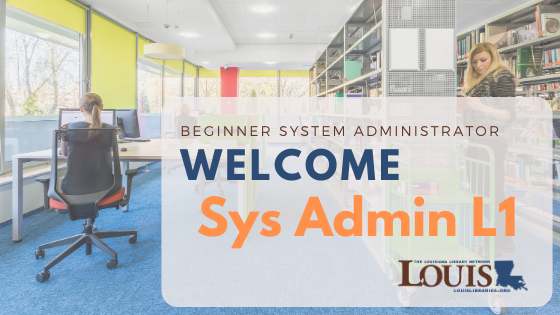Beginner System Administrator Training